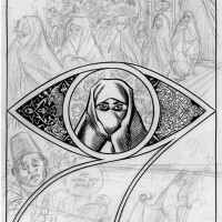 Habibi p.395d (Early Sketch)
